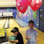 Childrens Bowling party